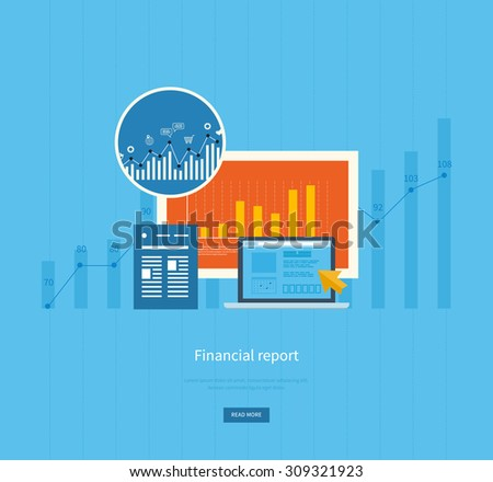 Data research analysis web statistics vector stock vector for Design and development consultants