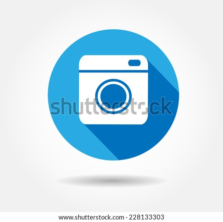 hipster camera photo vector button illustration stock vector 238380274 shutterstock. Black Bedroom Furniture Sets. Home Design Ideas