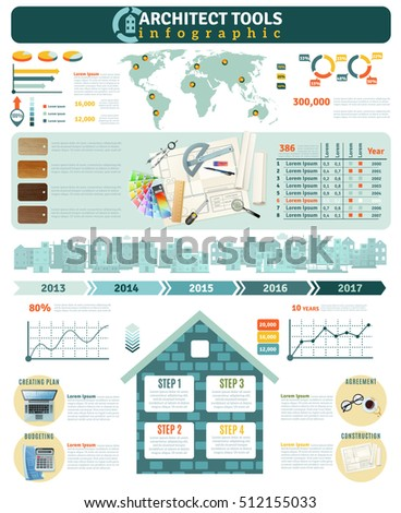 Infographics Real Estate House Sales All Stock Vector 141638206 ...
