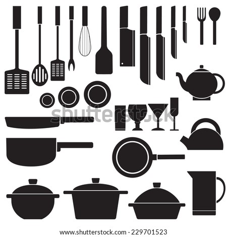 flat kitchen table for cooking in house vector illustration design for web and mobile concept