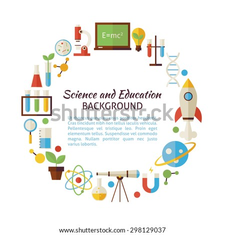 nice colorful science backrounds three horizontal colored science banner set stock vector 434221156