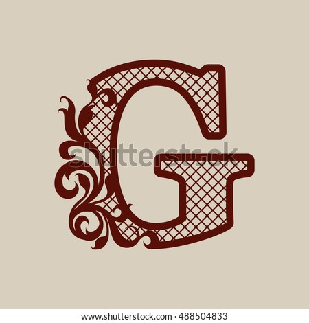 D Letters Printing Template on cut out, printable box,