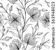 floral seamless pattern. flower ...