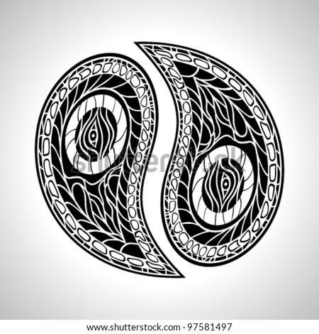 Vector Paisley Designs Imagem Vetorial De Banco 53570713