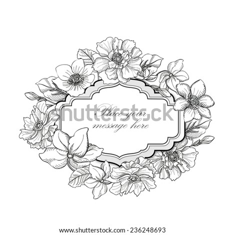 Flower Images With Roses Vase Sketch To Color