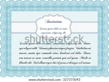 Formal invitation complex background border framelovely stock formal invitation border framewith great quality guilloche pattern nice design stopboris Choice Image