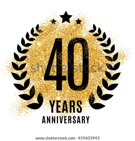 Seventy years golden anniversary sign gold stock illustration 515846086 shutterstock - Th anniversary symbol ...