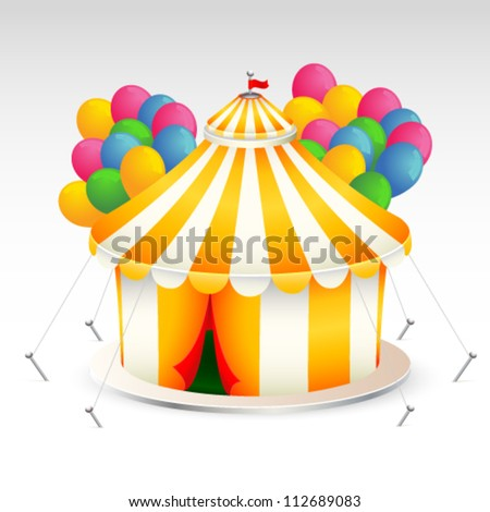 Related Pictures blue circus tent vector illustration stock vector