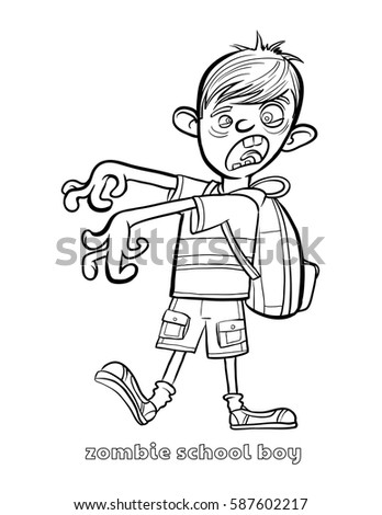 zombie football player coloring pages - photo#12