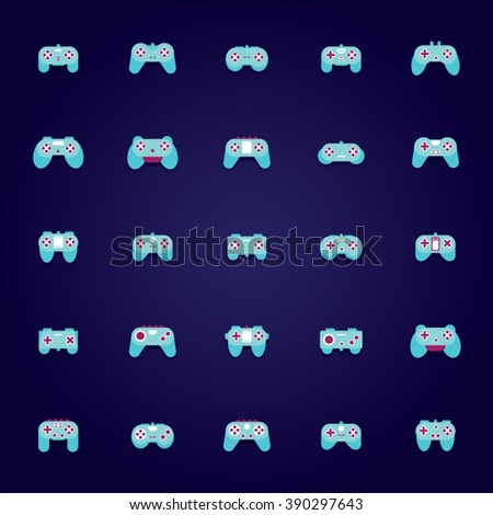 Game pad Icons
