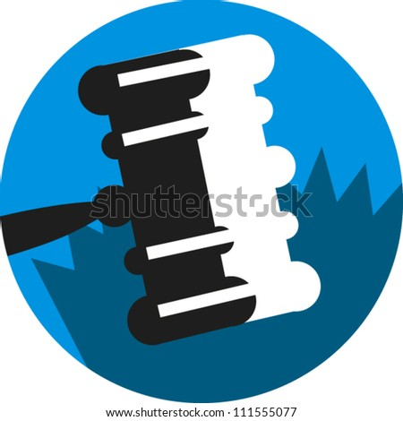 Gavel icon for legal subjects