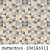 Geometric background #1 - stock vector
