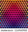 Geometric Gradient Color Background - stock photo