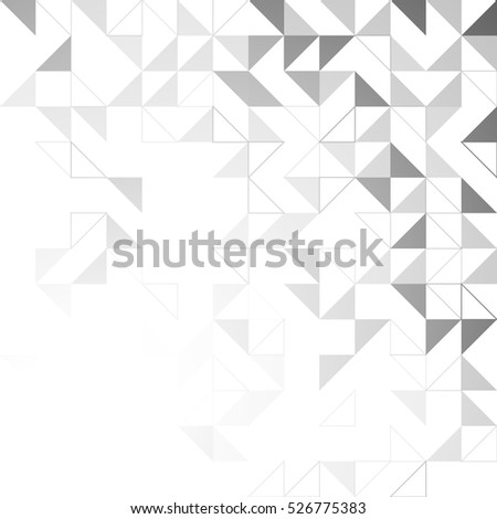 Geometric simple minimalistic background. Triangles pattern