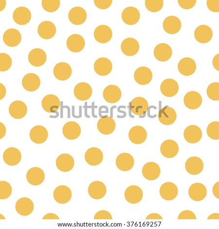 Geometrical background with circles. Abstract round seamless pattern. Dots pattern on white background. Vector illustration.
