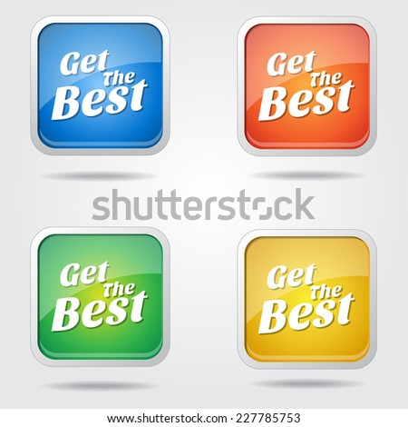 Get The Best Colorful Vector Icon Design