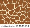 giraffe background animal skin (seamless  background giraffe pattern, giraffe vector seamless pattern texture, giraffe skin, vector animal skin textures of giraffe, giraffe fur texture background) - stock