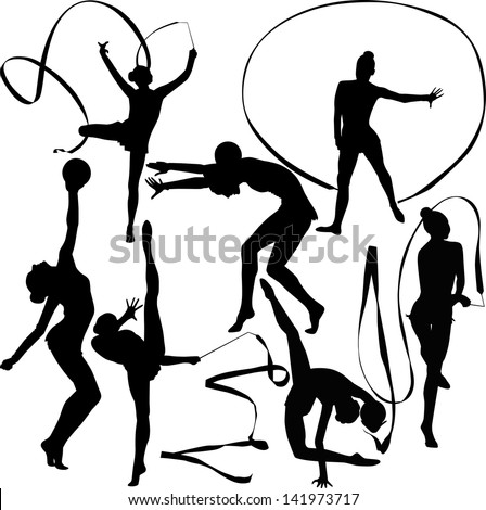 Set Vector Rock Paintings Scenes Hunting 255871171 on cartoon old people dancing