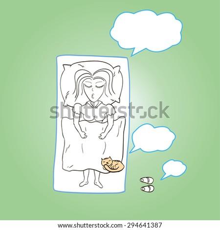 Cat Pulls Blanket Over Food