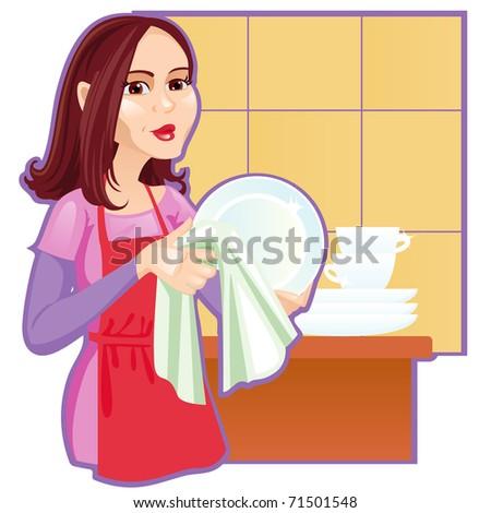 pop art thinking girl hanger comic stock illustration 439556215 shutterstock. Black Bedroom Furniture Sets. Home Design Ideas
