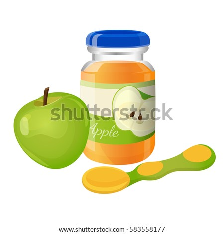 Flat Spoon For Eating Food Juices From Plate