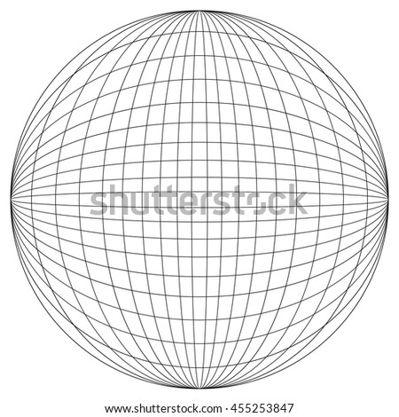 globe grid sphere pattern globe angering stock vector 533640865 shutterstock. Black Bedroom Furniture Sets. Home Design Ideas