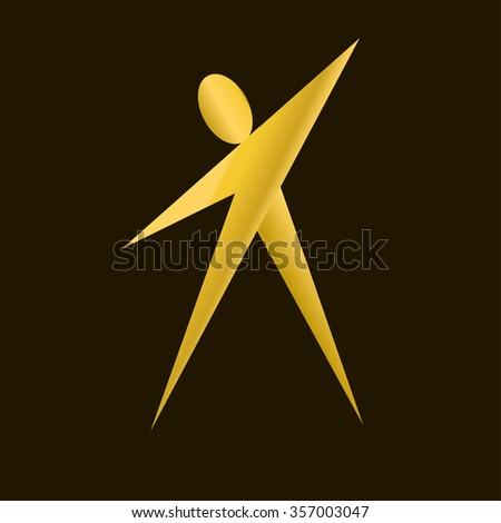yellow man logo