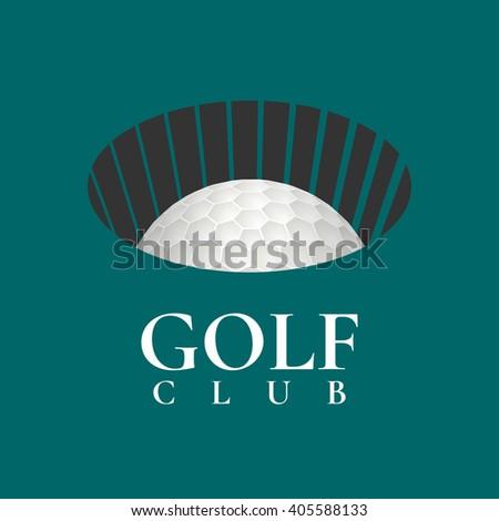 Emblems Golf Label Clubs Retro Design Stock Vector ...