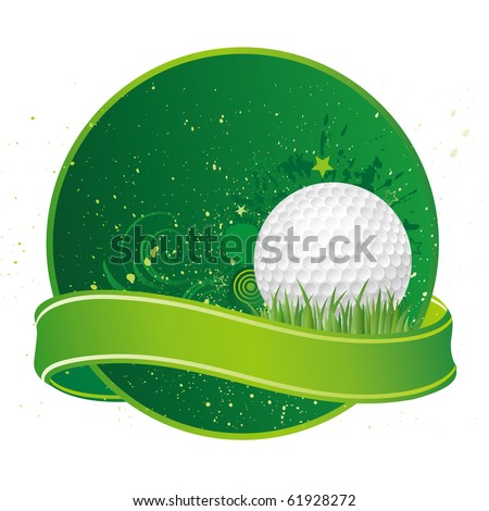 golf sport design elements