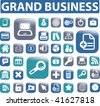 grand business buttons. vector - stock vector
