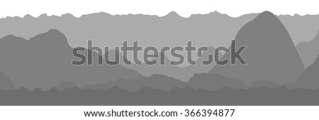 Gray business flat graph trend chart. Vector art.