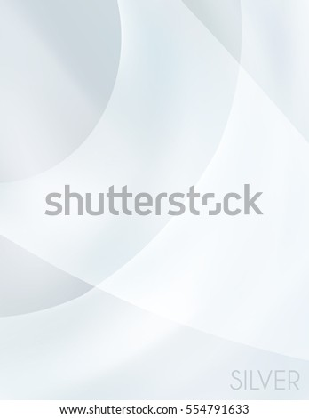 Gray subtle wallpaper. Abstract blurred silver background. Grey vector graphic pattern.