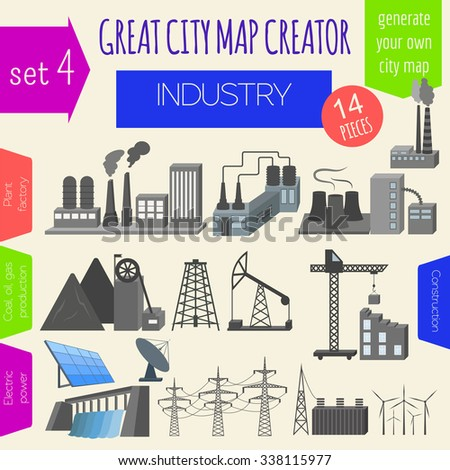 Infographics international economy oil price stock vector for House map creator