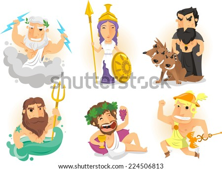 a character analysis of the greek god poseidon Poseidon: poseidon, in greek religion, god of the sea (and of water generally)   his character as a sea god eventually became his most prominent in art, and he.