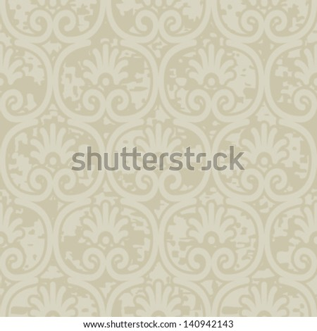 Greek Ornament Seamless Background Pattern