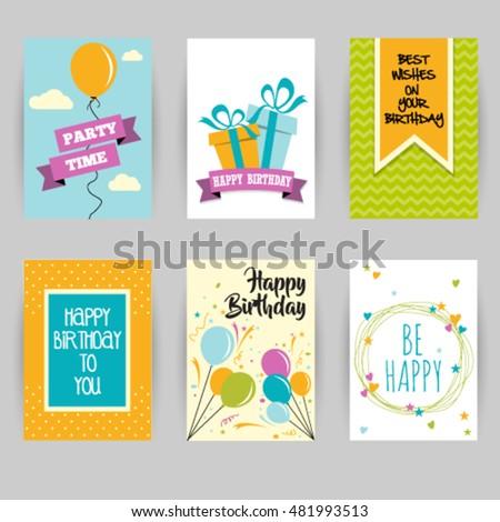 Greeting card banner love invitation card stock vector 454456126 greeting card banner birthday invitation social media card confetti heart star stopboris Image collections