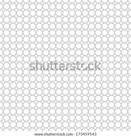 Grey vector seamless pattern (tiling). Endless texture can be used for wallpaper, pattern fill, web page background, surface texture. Set of monochrome geometric ornament.