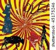 Grunge Spanish concept - stock