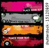 Grunge stylish banners 1.  To see similar, please VISIT MY GALLERY. - stock vector