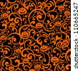 Halloween background. vector illustration - stock photo