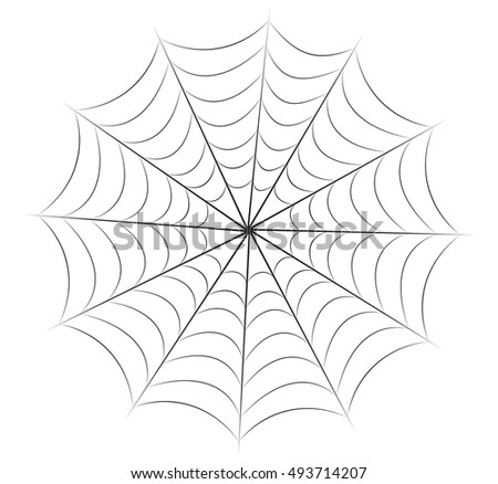 halloween spiderweb vector symbol icon design. Beautiful illustration isolated on white background