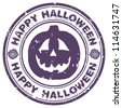 halloween stamp - stock photo