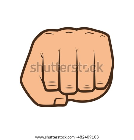 hand closed fist