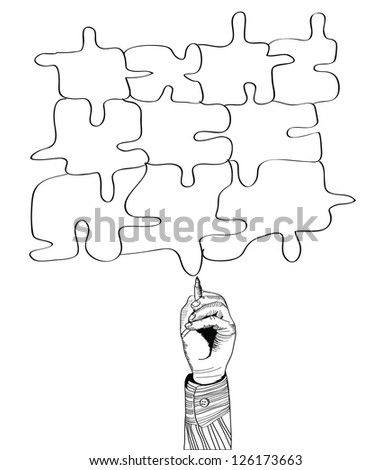 Hand Drawing Puzzle By Pen Vector 126173663 furthermore I0000hXLWkI18NU8 further Search likewise Search Vectors further Flourish Border. on gear clip art colorful