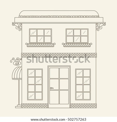 window frame coloring pages - photo#14