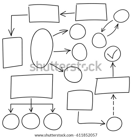 hand drawn doodle sketch mind map stock vector 218699053. Black Bedroom Furniture Sets. Home Design Ideas