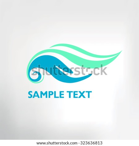Vector Image Dugong On White Background Stock Vector ...
