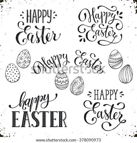 Easter Postcard Template