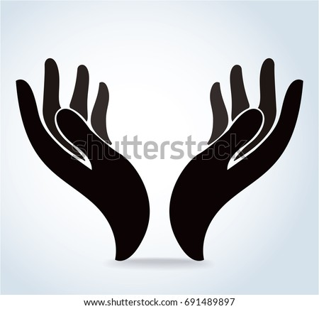 Hands Vector Stock Vector 378173476 - Shutterstock