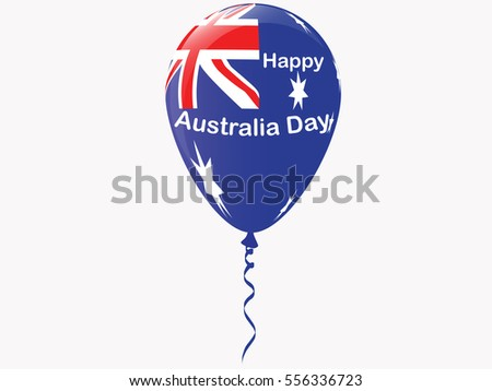 Happy Australia Day.Vector